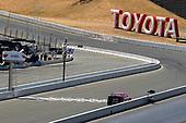#19: Martin Truex Jr., Joe Gibbs Racing, Toyota Camry Bass Pro Shops drives under the checkered flag to win