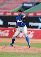 Rolando Sirit participates in the MLB International Showcase at Estadio Quisqeya on February 22-23, 2017 in Santo Domingo, Dominican Republic.