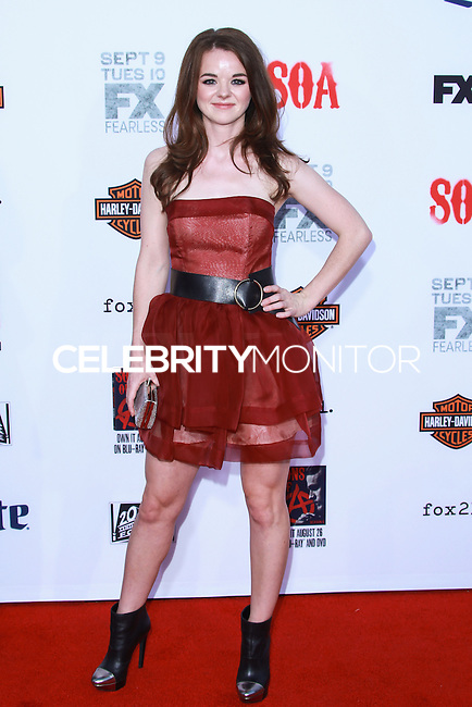 HOLLYWOOD, LOS ANGELES, CA, USA - SEPTEMBER 06: Marlane Barnes arrives at the Los Angeles Premiere Of FX's 'Sons Of Anarchy' Season 7 held at the TCL Chinese Theatre on September 6, 2014 in Hollywood, Los Angeles, California, United States. (Photo by David Acosta/Celebrity Monitor)