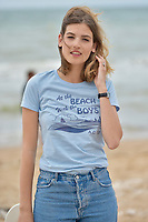 CABOURG, FRANCE - JUNE 15: Actress Alma Jodorowsky attends 'le ciel etoile au-dessus de ma tete' photocall during the 2nd day of 31st Cabourg Film Festival on June 15, 2017 in Cabourg, France. # FESTIVAL DE CABOURG