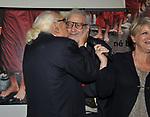 """MARCO PANNELLA CON VINCENZO GALLO """"VINCINO"""" E RITA BERNARDINI<br /> FESTA DEGLI 85 ANNI DI MARCO PANNELLA<br /> SEDE PARTITO RADICALE  ROMA 2015"""