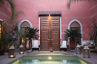 Swimming Pool at Riad Alili, Marrakech, Morocco