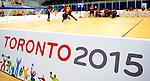 Toronto 2015 - Goalball.<br /> Canada's men's Goalball team plays against USA in the semi finals // L'équipe masculin de goalball du Canada joue contre les États-Unis en demi-finale. 14/08/2015.