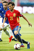 Spain's David Silva during FIFA World Cup 2018 Qualifying Round match. September 5,2016.(ALTERPHOTOS/Acero) /NORTEPHOTO