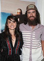 SANTA MONICA, CA - NOVEMBER 1: Mia Maestro, Chris McPherson, at the Los Angeles Premiere of documentary Bunker77 at the Aero Theater in Santa Monica, California on November 1, 2017. Credit: Faye Sadou/MediaPunch /NortePhoto.com