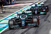 July 3rd 2021; F1 Grand Prix of Austria, qualifying sessions;  05 VETTEL Sebastian (ger), Aston Martin F1 AMR21, 44 HAMILTON Lewis (gbr), Mercedes AMG F1 GP W12 E Performance during the  2021 Austrian Grand Prix, 9th round of the 2021 FIA Formula One World Championship