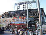 AT&T PARK, HOME of the GIANTS BASEBALL STADIUM