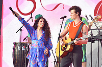 NEW YORK, NY- SEPTEMBER 25: Shawn Mendes and Camila Cabello at the 2021 Global Citizen Live Festival at the Great Lawn in Central Park, New York City on September 25, 2021. Credit: John Palmer/MediaPunch