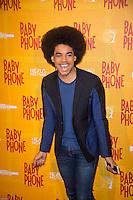Gwendal Marimoutou ‡ l'avant premiËre du film BABY PHONE ‡ l'UGC Normandie ‡ Paris le 20 fÈvrier 2017 # PREMIERE DU FILM 'BABY PHONE' A PARIS