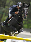 Spain's jockey Sergio Collado with the horse Undercover during 102 International Show Jumping Horse Riding, King's College Trophy. May, 20, 2012. (ALTERPHOTOS/Acero)