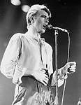 David Bowie 1978 Earls Court<br /> © Chris Walter