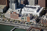 aerial photograph of One Rincon Plaza, The Embarcadero, San Francisco waterfront, California