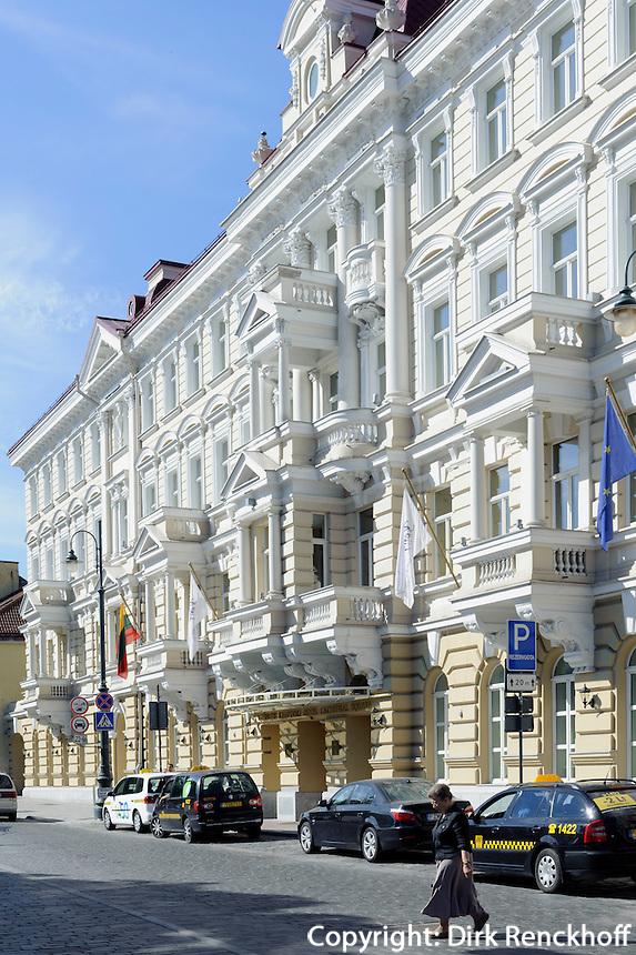 Kempinski-Hotel in Vilnius, Litauen, Europa, Unesco-Weltkulturerbe