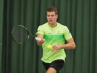 Rotterdam, Netherlands, Januari 24, 2016,  ABNAMROWTT Supermatch, Bart van de Berg (NED)<br /> Photo: Tennisimages/Henk Koster