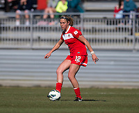 Olivia Wagner. The Washington Spirit defeated the North Carolina Tar Heels in a preseason exhibition, 2-0, at the Maryland SoccerPlex in Boyds, MD.