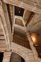 Europe/France/Aquitaine/24/Dordogne/Périgueux: Escalier renaissance dans l'Hôtel Saint Astier