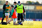 Doctor Michael Finnerty after the Munster Football Championship game between Kerry and Clare at Fitzgerald Stadium, Killarney on Saturday.