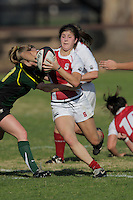 STANFORD, CA - JANUARY 17:  The Stanford Cardinal women's rugby team during a match against Oregon on January 17, 2009 at Steuber Rugby Stadium in Stanford, California.