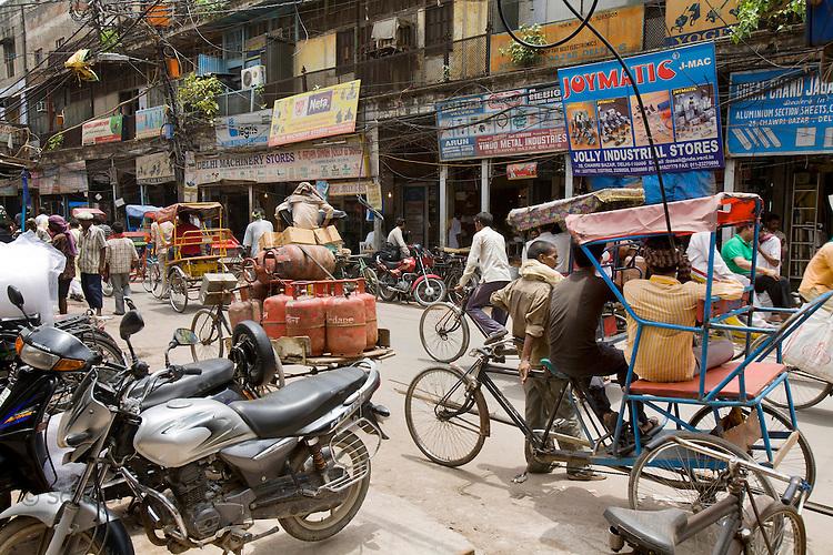 Street life, Old Delhi