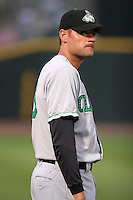 Clinton Lumberkings Andy Fox during a Midwest League game at Fifth Third Field on July 18, 2006 in Dayton, Ohio.  (Mike Janes/Four Seam Images)