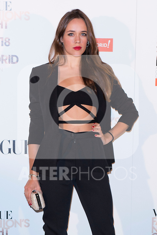 """attends the """"VOGUE FASHION NIGHT OUT"""" Photocall at Jose Ortega y Gaset street in Madrid, Spain. September 18, 2014. (ALTERPHOTOS/Carlos Dafonte)"""