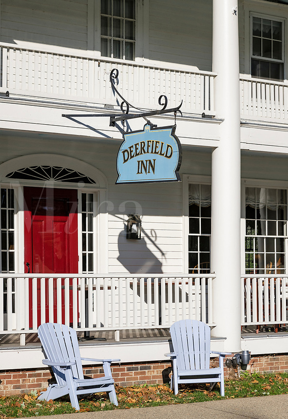 Historic Deerfield Inn, Deerfield, Massachusetts, USA.