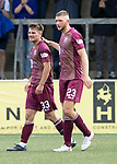 Forfar v St Johnstone…28.07.18…  Station Park    Betfred Cup<br />Matty Kennedy celebrates his goal with Liam Gordon<br />Picture by Graeme Hart. <br />Copyright Perthshire Picture Agency<br />Tel: 01738 623350  Mobile: 07990 594431