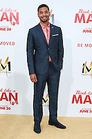 HOLLYWOOD, LOS ANGELES, CA, USA - JUNE 09: Jussie Smollett at the Los Angeles Premiere Of Screen Gems' 'Think Like A Man Too' held at the TCL Chinese Theatre on June 9, 2014 in Hollywood, Los Angeles, California, United States. (Photo by David Acosta/Celebrity Monitor)