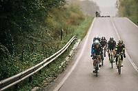 trying to slip away...<br /> <br /> 2018 Binche - Chimay - Binche / Memorial Frank Vandenbroucke (1.1 Europe Tour)<br /> 1 Day Race: Binche to Binche (197km)