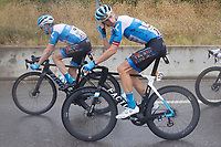 29th August 2020, Nice, France;  NEILANDS Krists of Israel Start-Up Nation during stage 1 of the 107th edition of the 2020 Tour de France cycling race, a stage of 156 kms with start in Nice Moyen Pays and finish in Nice