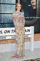 "Emily Blunt<br /> at the premiere of ""The Girl on the Train"", Odeon Leicester Square, London.<br /> <br /> <br /> ©Ash Knotek  D3156  20/09/2016"