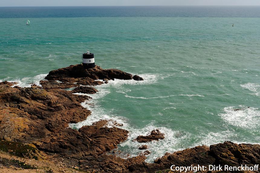 Noirmont Tower am Noirmont Point, Insel Jersey, Kanalinseln
