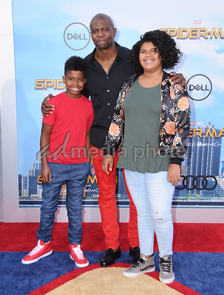 """28 June 2017 - Hollywood, California - Terry Crews. """"Spider-Man: Homecoming"""" Los Angeles Premiere held at the TCL Chinese Theatre in Hollywood. Photo Credit: Birdie Thompson/AdMedia"""