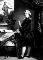John Adams.  Copy of painting by or after John Singleton Copley, ca.  1783.  (George Washington Bicentennial Commission)<br /> Exact Date Shot Unknown