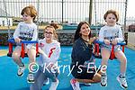 Enjoying the playground in Ballyheigue on Thursday, l to r: Twins Eliza and Kai O'Sullivan, with Carolina Depska and Annie Nicole Casey.