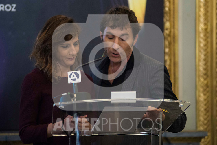 Malena Alterio and Antonio de la Torre attends to the finalists reading of the Feroz Awards 2017 at Casa America in Madrid, Spain. December 01, 2016. (ALTERPHOTOS/BorjaB.Hojas)