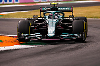 10th September, September 2021; Nationale di Monza, Monza, Italy; FIA Formula 1 Grand Prix of Italy, Free practise and qualifying for sprint race:  5 Sebastian Vettel GER, Aston Martin Cognizant F1 Team