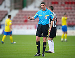 Dunfermline v St Johnstone..24.12.11   SPL .Ref Craig Thomson.Picture by Graeme Hart..Copyright Perthshire Picture Agency.Tel: 01738 623350  Mobile: 07990 594431