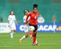 Washington D.C. - October 20, 2014:  Trinidad & Tobago defeated Guatemala 2-1 during a CONCACAF Women's  Championship game at RFK Stadium.