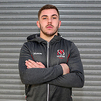 Tuesday 1st January 2019 | Ulster Rugby Match Briefing<br /> <br /> Ulster's Adam McBurney at the Ulster Rugby Match Briefing held at Kingspan Stadium ahead of Ulster's inter-pro clash against Leinster at the RDS in Dublin on Saturday. Photo by John Dickson / DICKSONDIGITAL