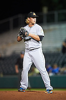Mesa Solar Sox pitcher Drew Steckenrider (44), of the Miami Marlins organization, during a game against the Scottsdale Scorpions on October 17, 2016 at Scottsdale Stadium in Scottsdale, Arizona.  Mesa defeated Scottsdale 12-2.  (Mike Janes/Four Seam Images)