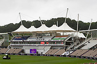 Heavy rain at the Hampshire Bowl during India vs New Zealand, ICC World Test Championship Final Cricket at The Hampshire Bowl on 18th June 2021