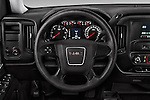 Car pictures of steering wheel view of a 2018 GMC Sierra 1500 2WD Crew Cab Short Box 4 Door Pick-up Steering Wheel