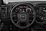 Car pictures of steering wheel view of a 2018 GMC Sierra 1500 2WD Crew Cab Short Box 4 Door Pick-up Steering Wheel