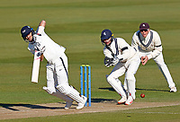 Joe Root bats for Yorkshire during Kent CCC vs Yorkshire CCC, LV Insurance County Championship Group 3 Cricket at The Spitfire Ground on 17th April 2021