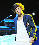 Harry Styles of One Direction performs live during their US Summer Tour 2012 at The Honda Center in Anaheim, California on June 17,2012                                                                               © 2012 Debbie VanStory / RockinExposures