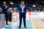 CSKA Moscow coach Dimitris Itoudis during Turkish Airlines Euroleague match between Real Madrid and CSKA Moscow at Wizink Center in Madrid, Spain. November 29, 2018. (ALTERPHOTOS/Borja B.Hojas)