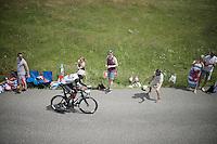 Daniel Teklehaimanot (ERI/Dimension Data)<br /> <br /> Stage 18 (ITT) - Sallanches › Megève (17km)<br /> 103rd Tour de France 2016
