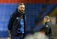 Bolton Wanderers' head coach Ian Evatt gestures<br /> <br /> Photographer Andrew Kearns/CameraSport<br /> <br /> The EFL Sky Bet League Two - Bolton Wanderers v Salford City - Friday 13th November 2020 - University of Bolton Stadium - Bolton<br /> <br /> World Copyright © 2020 CameraSport. All rights reserved. 43 Linden Ave. Countesthorpe. Leicester. England. LE8 5PG - Tel: +44 (0) 116 277 4147 - admin@camerasport.com - www.camerasport.com