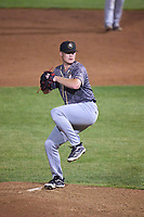 Quad Cities River Bandits pitcher Will Klein (21) during a game against the South Bend Cubs on August 20, 2021 at Four Winds Field in South Bend, Indiana.  (Mike Janes/Four Seam Images)